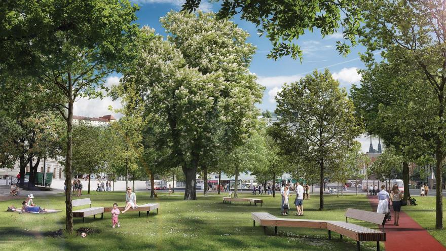 Video Mendlovo náměstí by se mělo změnit podle návrhů Michala Palaščáka a Michala Poláše