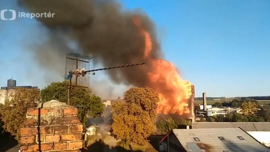 Video hoří