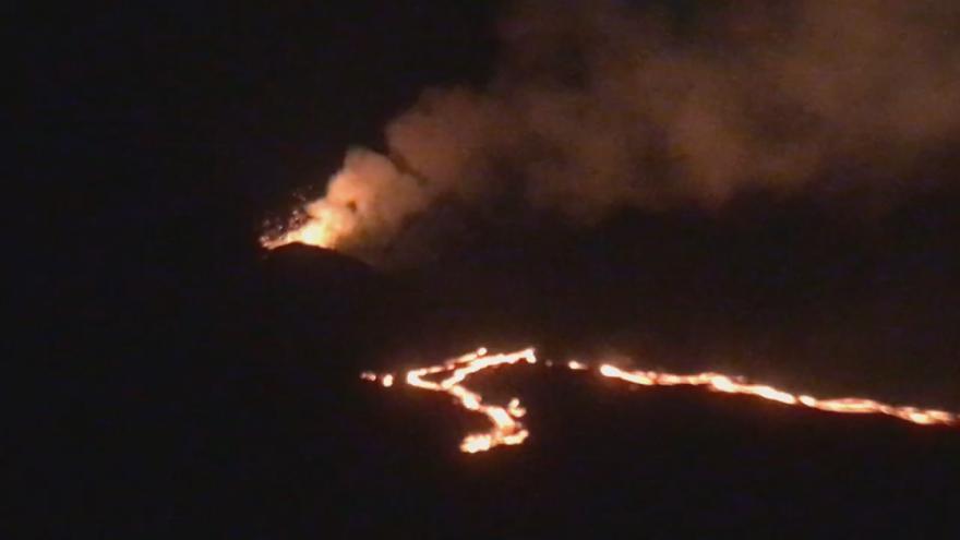 Video Aktivní sopka na Réunionu (září 2018)