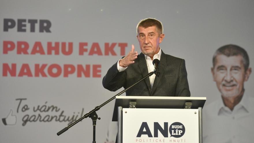Video Tisková konference se šéfem Hnutí ANO a premiérem Andrejem Babišem