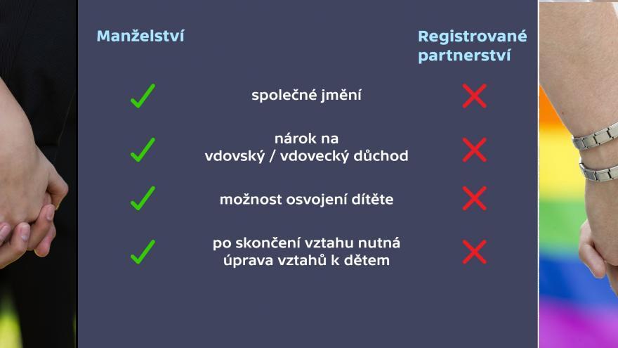 Video 90' ČT24 - Homosexuální sňatky versus obrana tradičního manželství