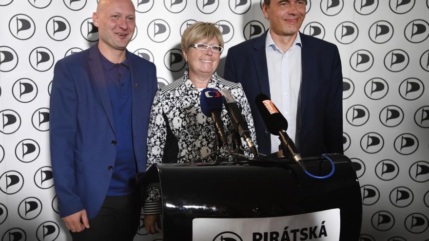 Video Tisková konference Pirátů k výsledkům senátních voleb