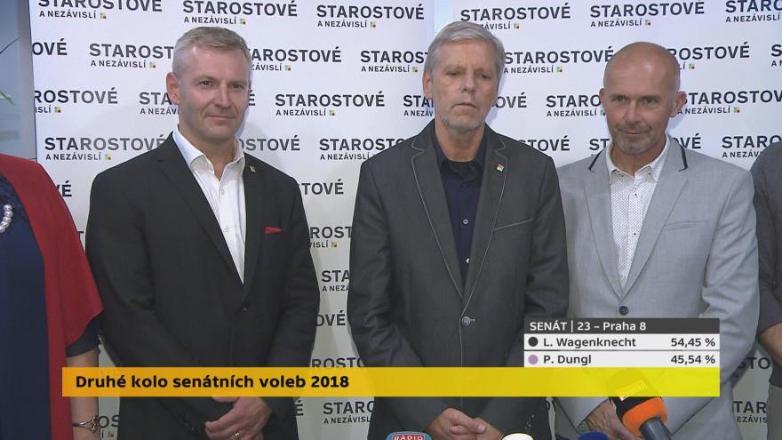 Video Tiskové konference STAN k výsledkům senátních voleb