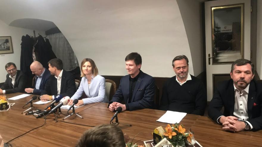 Video Brněnská koalice představila smlouvu o spolupráci