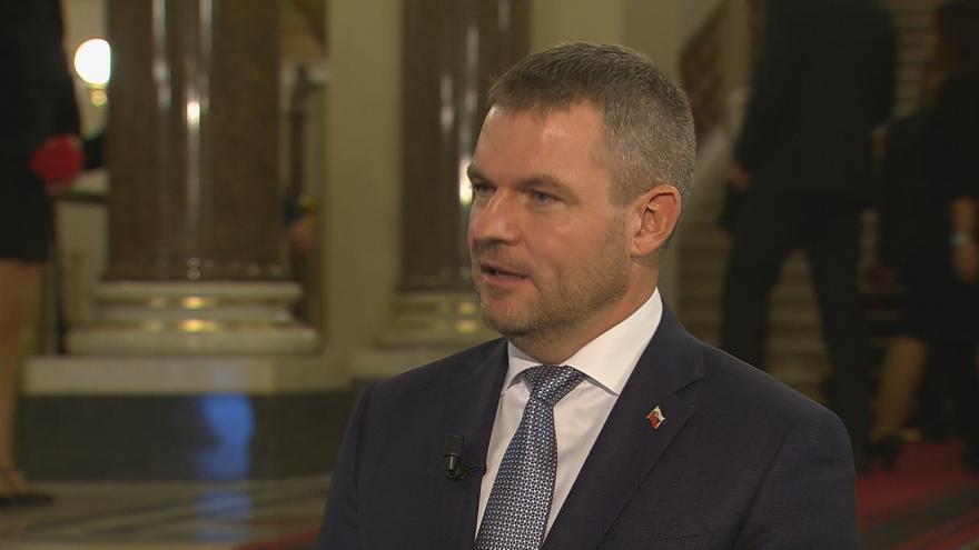 """Video """"Češi a Slováci jsou si nejblíž na světě,"""" míní slovenský premiér"""
