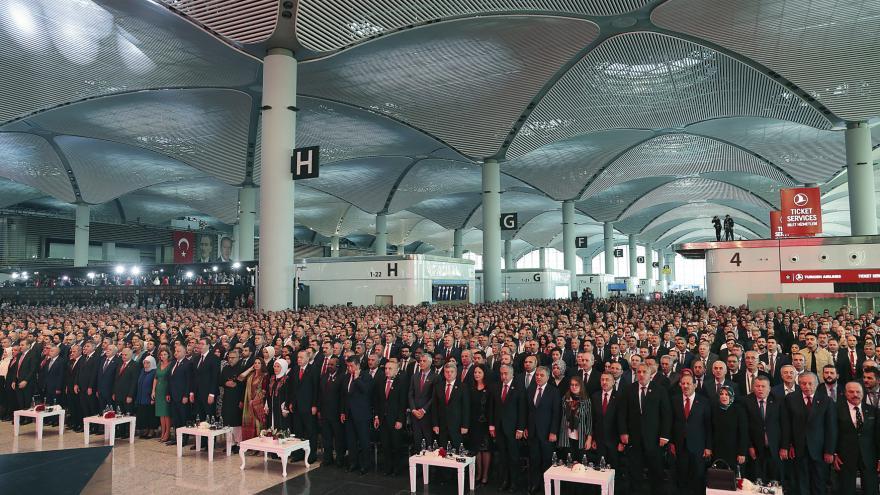 Video V Istanbulu otevřeli nové letiště, za pět let má být největší na světě
