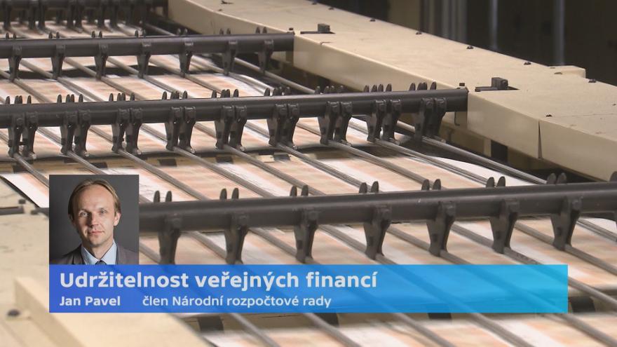 Video Člen Národní rozpočtové rady Jan Pavel ke stavu veřejných financí