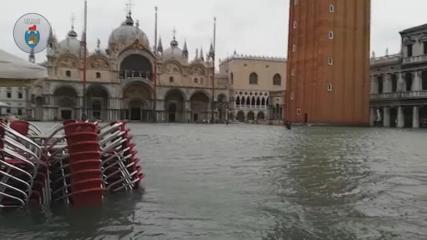 Video Itálie už několik dní bojuje ze záplavami
