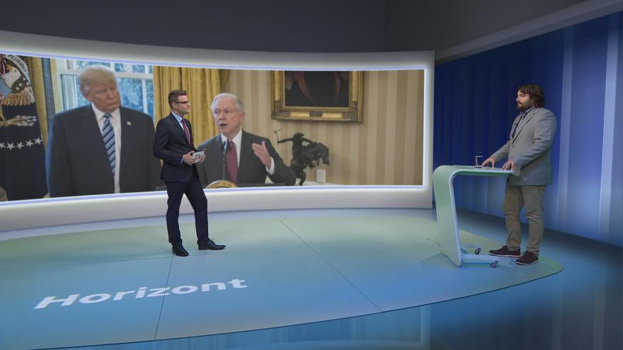Video Horizont ČT24: Trump má šanci na další vítězství