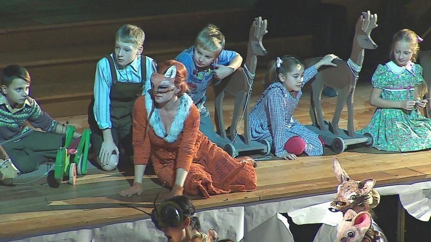 Video Z lesa se liška Bystrouška přesune do dětského domova