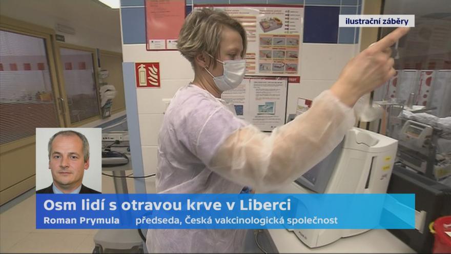 Video Liberecká nemocnice přijala pacienty s otravou krve