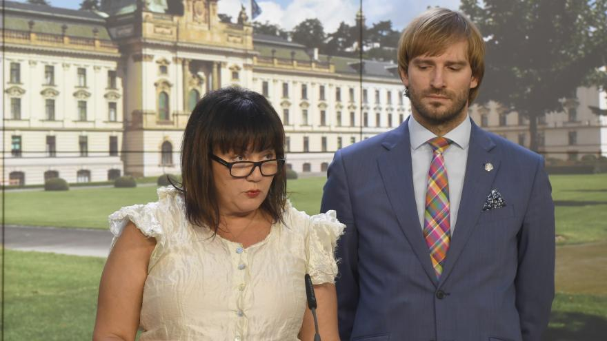 Video Události ČT: Ministři Vojtěch a Schillerová se přou o miliardy do zdravotnictví