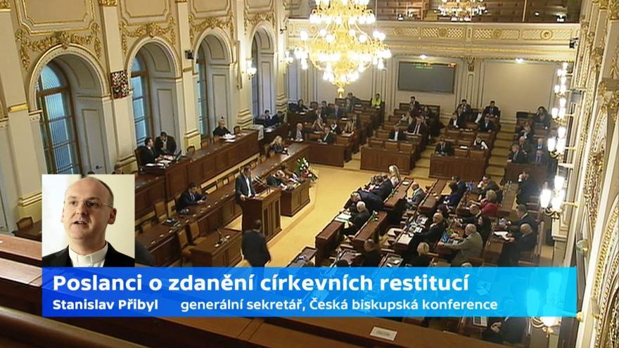 Video Generální sekretář biksupské konference: Můžeme jen čekat, jak sněmovna rozhodne o zdanění náhrad