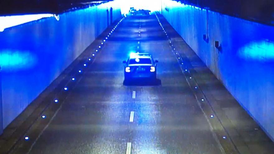 Video Policista vs. motorkář