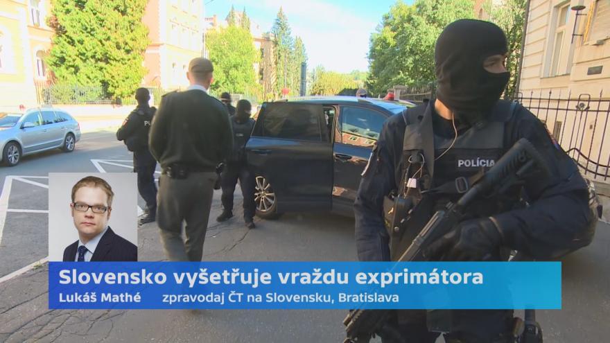 Video Ženu obviněnou z Kuciakovy vraždy policie obvinila z podílu na smrti primátora Basternáka