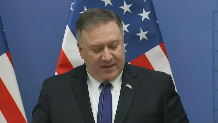 Video Horizont ČT24: Ministr zahraničí USA navštíví střední Evropu, Česku se ale vyhne