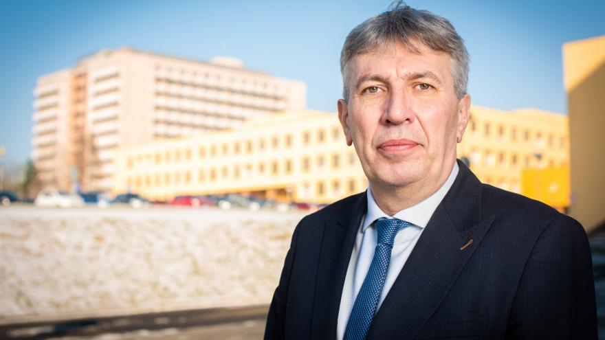 Video Nový ředitel Fakultní nemocnice Ostrava