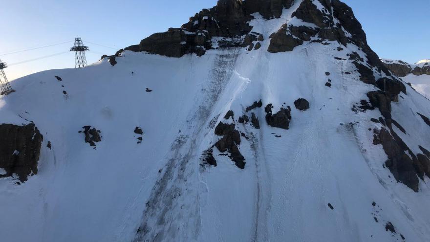 Video Ve Švýcarku ukončili celonoční prohledávání laviny
