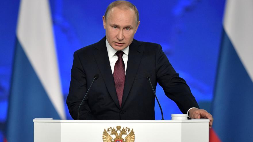 Video Zpráva Putina o stavu země