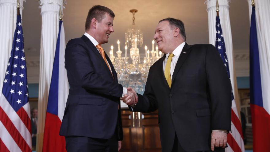 Video Ministr zahraničí Petříček se setkal s americkým protějškem Pompeem