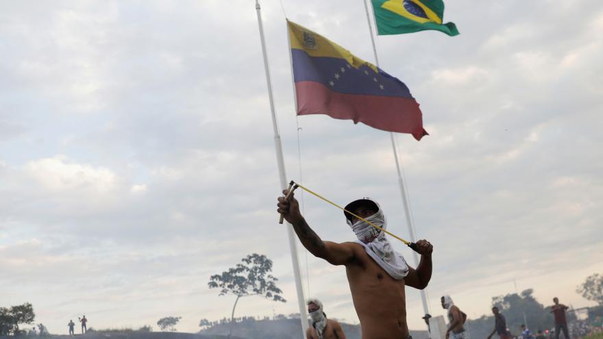 Video Střety ve Venezuele