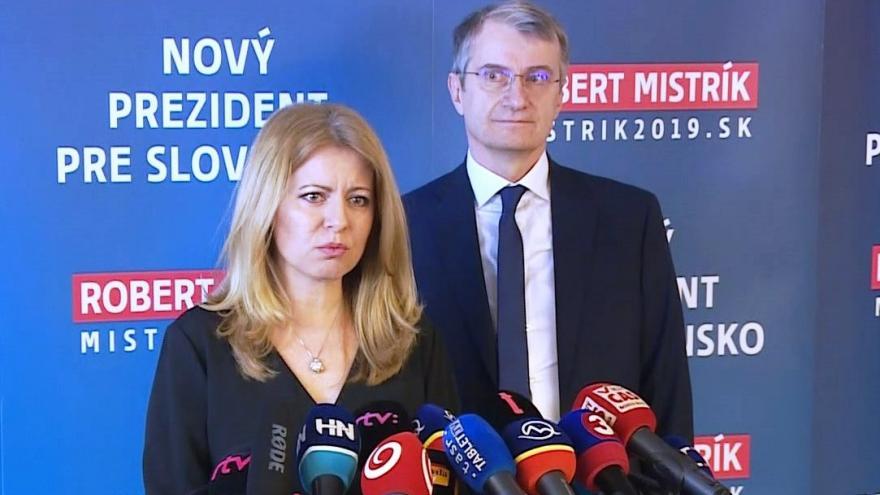 Video Tisková konference Zuzany Čaputové a Roberta Mistríka