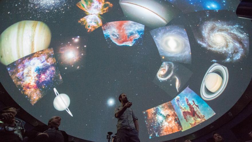 Video Digitální planetárium za 11 milionů si pořídili v Českých Budějovicích
