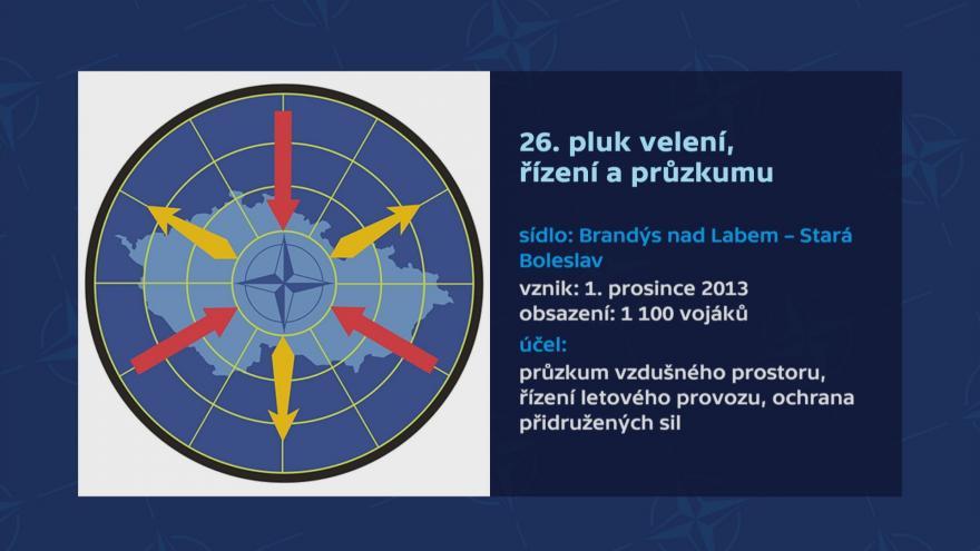 Video 26. pluk velení, řízení a průzkumu