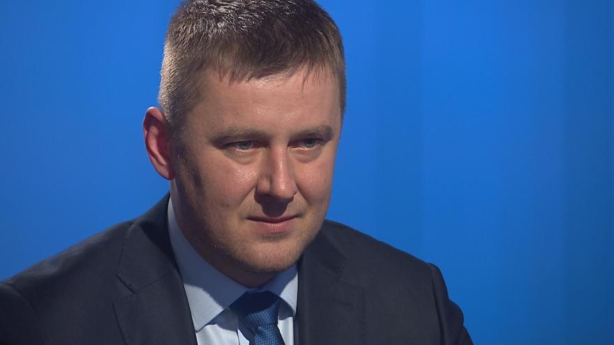 Video Tomáš Petříček (ČSSD) hostem Interview ČT24