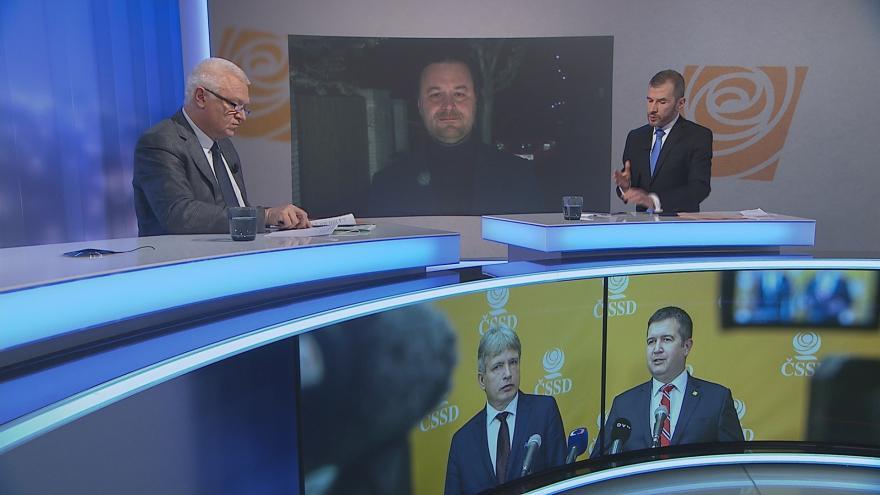 Video Události, komentáře: Koalici obměna ČSSD podle Faltýnka nezmění