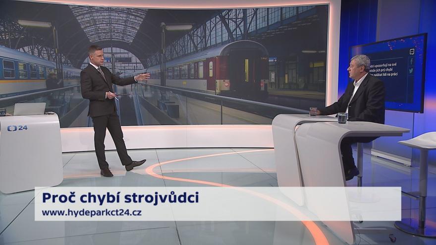Video 90' ČT24 - Bezpečnost na železnici