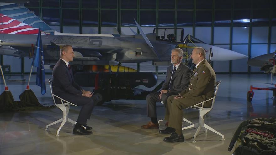 Video Generál Petr Pavel hodnodí 20 let v NATO - 2. část