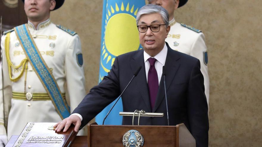 Video Horizont ČT24: Kazachstán má nového prezident a změní si i název metropole