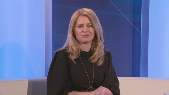 Video Interview ČT24: Zuzana Čaputová