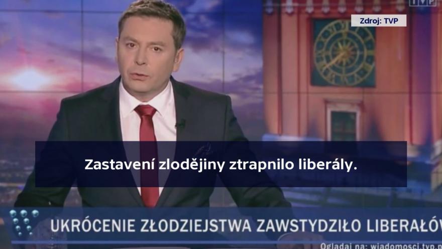Video Newsroom ČT24: Kritika polské veřejnoprávní televize