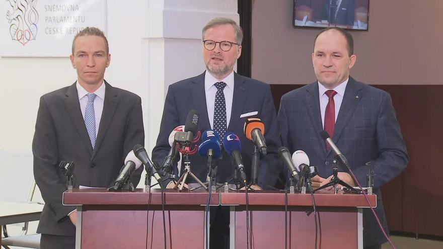 Video Opozice o důvodech vyvolání mimořádné schůze sněmovny