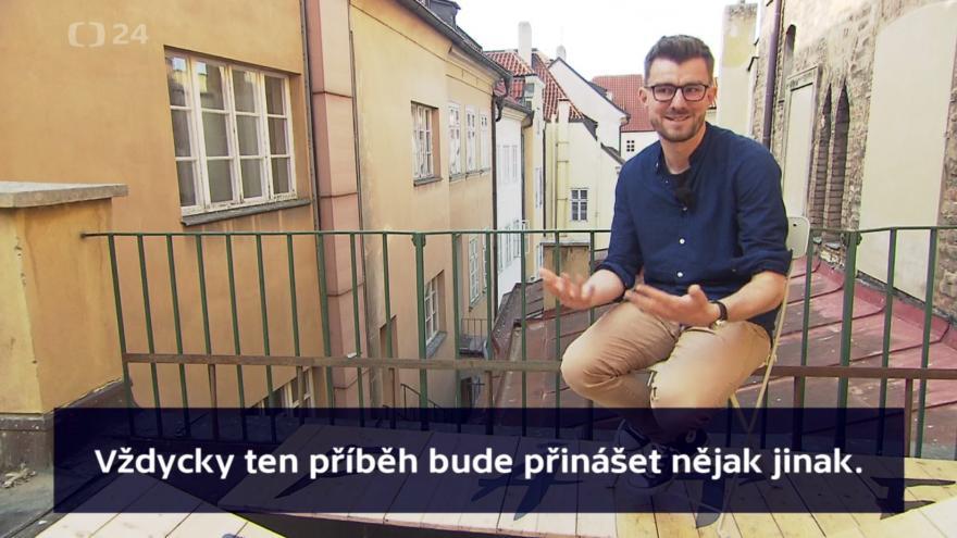 Video Reportér Televize Seznam Janek Rubeš: Žádný člověk nemůže být stoprocentně objektivní