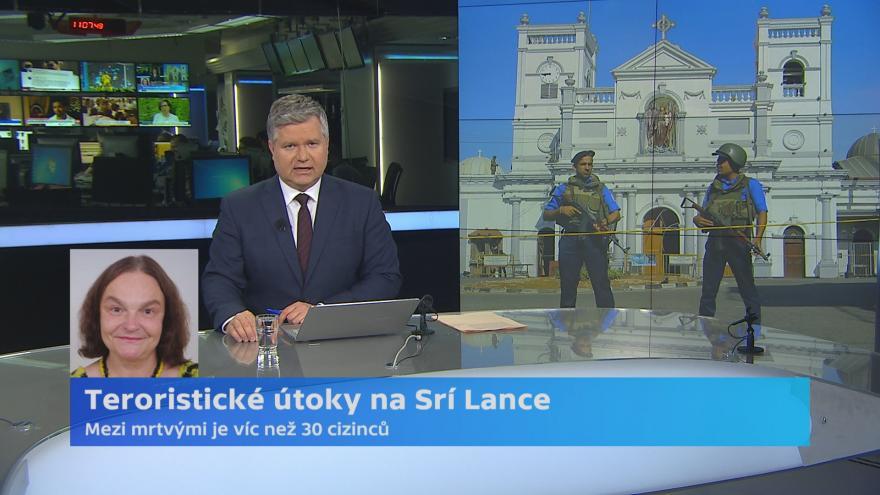Video Útok na Srí Lance má možná vazby do zahraničí