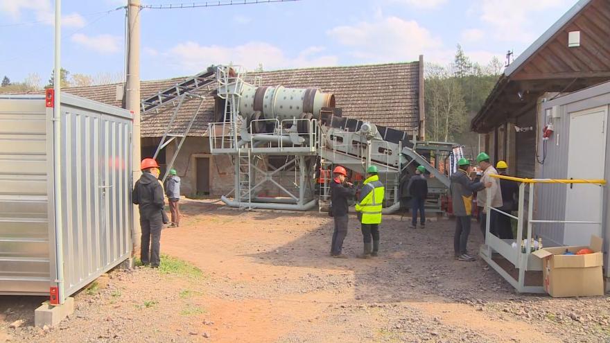 Video Obnovená těžba českého granátu