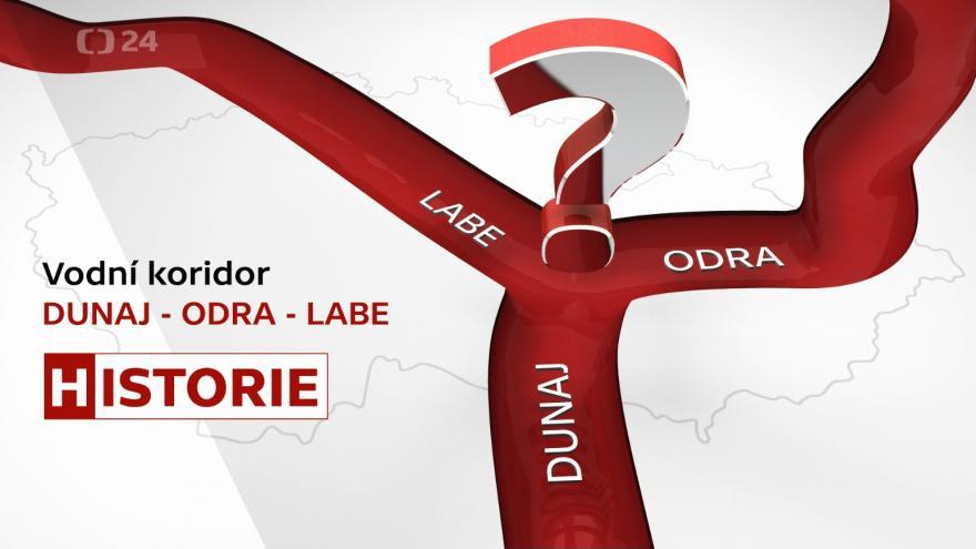 Video Vodní koridor Dunaj - Odra - Labe: Historie (1. díl)
