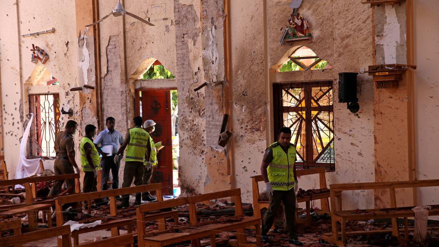 Video Všichni útočníci ze Srí Lanky jsou zadrženi či mrtví