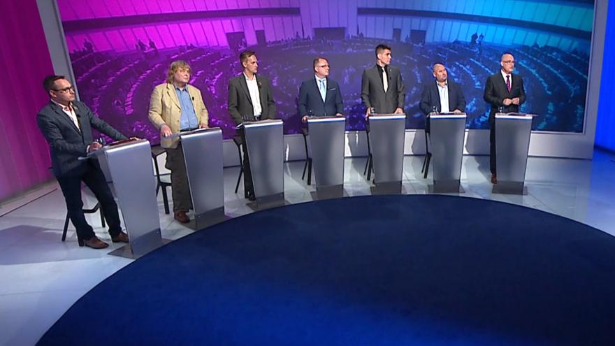 Video Politické spektrum - Volby do Evropského parlamentu 2019