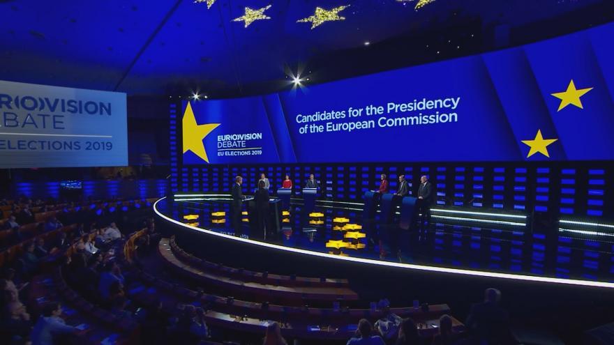 Video Debata uchazečů o funkci předsedy Evropské komise