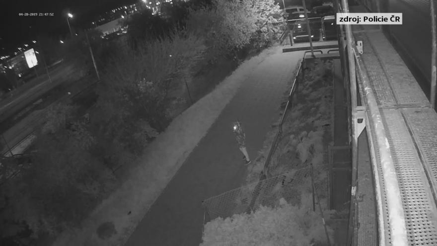 Video Kamerový záznam ze zastávky Novolíšeňská (28.4.2019)