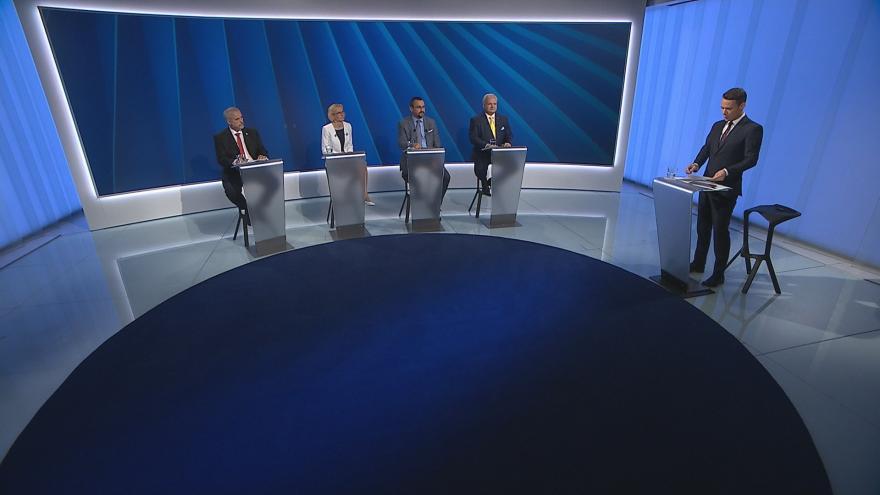 Video Mimořádné pořady ČT24 - Předvolební debata