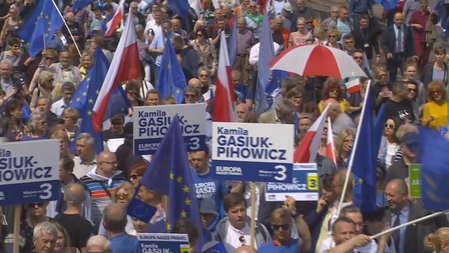 Video Události ČT: Vrcholí volební kampaň do europarlamentu