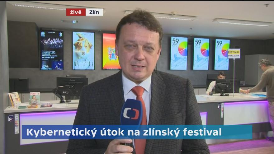 Video Kybernetický útok na Zlínský filmový festival