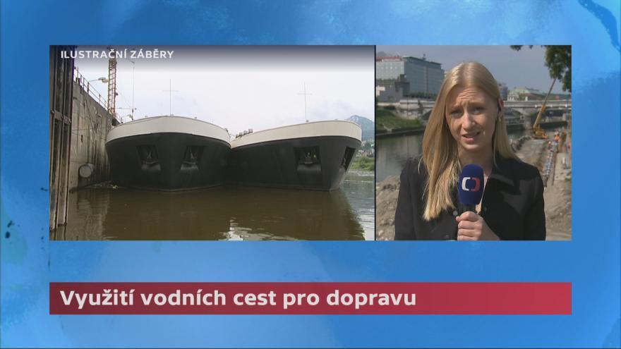 Video Ministr Kremlík chce rozšiřovat vodní cesty