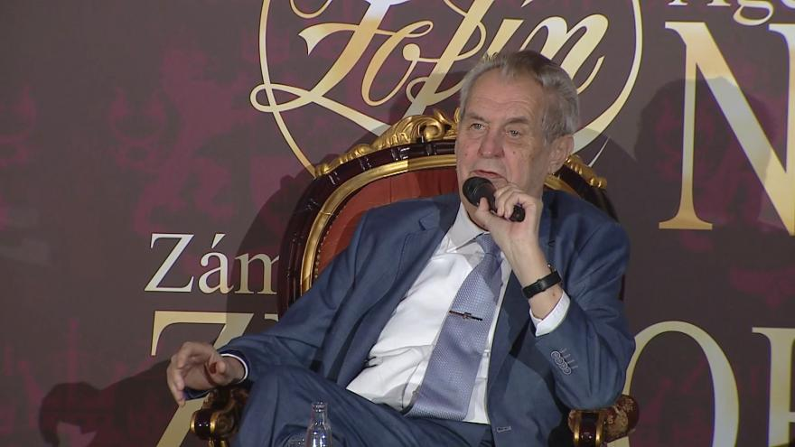 Video Projev prezidenta Miloše Zemana na Žofínském fóru
