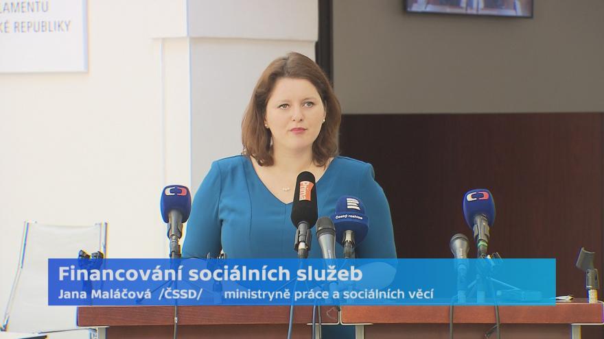 Video Ministryně Maláčová požaduje 1,5 miliardy z rezervy rozpočtu